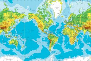 world map topo smaller